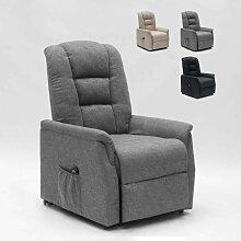 Elektrisches Relaxsessel mit Hinterrädern und