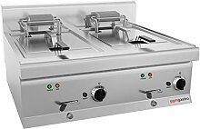 Elektro Fritteuse - 10 + 10 Liter (18 kW) |