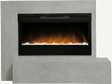 Elektro-Kaminofen Jessie Belfry Heating Farbe: Grau