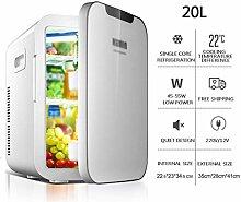 Elektro-Kühlbox, 20L Auto Kühlschrank, tragbares