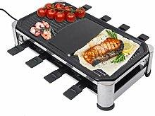 Elektrogrill Raclette Grill 1500W Rauchlos