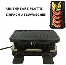 Elektrogrill Raclette Grill Tischgrill Stahlplatte