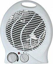 Elektroheizung 2000W Heizgerät Heizlüfter Bad mit Thermostat Heizlüfter