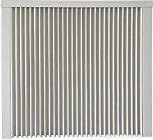 Elektroheizung - Radiator - 1500 Watt - im Set - inkl. Wandmontageset und 1,8m Anschlusskabel - Integriertes Thermostat mit Ein-/Ausschalter und Kontrollheizleuchte - mit Schamottespeicherkern - Maße: (LxHxT) 690x630x130 - Lagerware