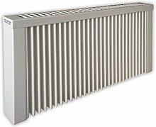 Elektroheizung - Radiator - 1500 Watt - im Set - inkl. Wandmontageset und 1,8m Anschlusskabel - Wandthermostat mit 1,5m Kabel für Steckdose - mit Schamottespeicherkern - Maße: (LxHxT) 990x380x80 - Lagerware