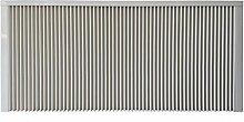 Elektroheizung - Radiator - 2000 Watt - im Set - inkl. Wandmontageset und 1,8m Anschlusskabel- Integriertes Thermostat mit Ein-/Ausschalter und Kontrollheizleuchte - mit Schamottespeicherkern - Maße: (LxHxT) 990x630x80 - Lagerware