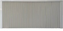 Elektroheizung - Radiator - 2500 Watt - im Set - inkl. Wandmontageset - Digitales Wandthermostat mit Programmierfunktion für Festanschluss - mit Schamottespeicherkern - Maße: (LxHxT) 1330x630x80 - Lagerware