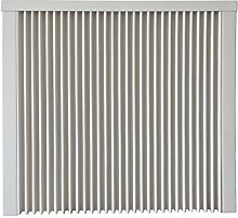 Elektroheizung - Radiator - 500 Watt - im Set - inkl. Wandmontageset und 1,8m Anschlusskabel- digitales Funkthermostat für Steckdose, mit Programmierfunktion (empfohlen) - mit Schamottespeicherkern - Maße: (LxHxT) 410x630x80 - Lagerware