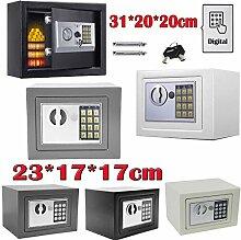 Elektronik Tresor mit zahlenschloss 31x20x20cm