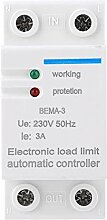 Elektronische Lastbegrenzungsautomatik 2P 3A