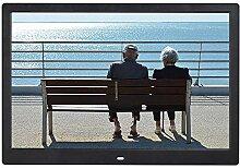 Elektronischer Fotorahmen 14In Schwarz/Weiß