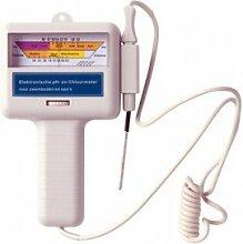 Elektronischer pH und Chlor Wert Messgerät tester
