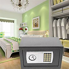 Elektronischer Safe 31x20x20cm LED