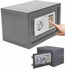 Elektronischer Safe 31x20x20cm Tresor, Feuerfest