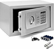 Elektronischer Tresor 31x20x20cm Türstärke 3,2mm mit Doppelbolzenverriegelung