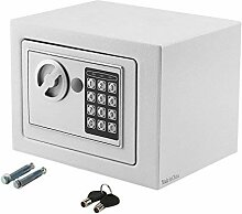Elektronisher Safe Tresor 23x17x17cm Minisafe