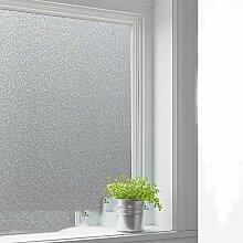 Elektrostatische milchglas aufkleber,Undurchsichtige fenster aufkleber sonnenschutz folie für bad balkon-G 90x100cm(35x39inch)