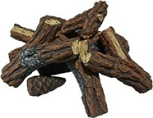 Elementi Brennholz Keramik in