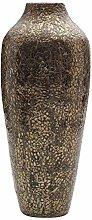 Elements 43,2cm Bambus Shell Braun Vase