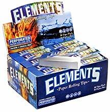 Elements Filter Tips aus naturbelassenem Material