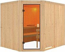 Elementsauna Horna für 3 Personen Woodfeeling