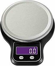 Elenxs 3kg / 0,1g Digitale Küchenwaage LCD