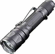 ELENXS LED Taktische Taschenlampe Wasserdichte