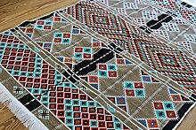 Elessar Neu,130 x 200 cm Kelim, Orient-Teppich,