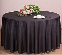 Elevavie Abdeckung Gartenmöbel Rund,Schutzhülle Abdeckung für Gartenmöbel Gartentische und Möbelsets, Sitzgruppe Wasserdicht Schwarz (230x110cm/90.6x43.3inch)