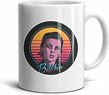 Elf-Bitchin-Becher gedruckt Kaffeetasse Tee