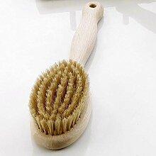 Eliga 86031 Saunabürste aus Holz 28 cm