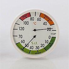 Eliga Klimamesser 120 mm Thermo - und Hygrometer Sauna / Vital / Infraro