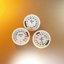 Eliga Thermometer 120 mm für Saunakabinen