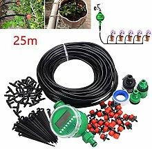 Elikliv Mikro Tropfen Bewässerung Set, 25m DIY