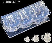 Eliky Handgemachte Mini Hohlmilchflaschen Tasse