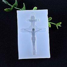 Eliky Silikonform Exquisite Vintage Kreuz Jesus