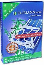 ELIMANN® Bambus-Tuch Hochglanz Premium, 3er Set
