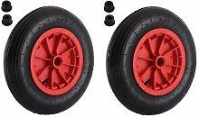eLITe Gummi Reifen aufblasbar 35,6cm