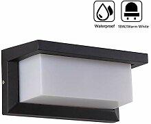 Elitlife 12W LED Wandleuchte Außen Wandlampe