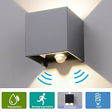 Elitlife 12W LED Wandleuchte Wandlampe mit