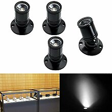 Elitlife 4 stk Mini LED Einbaustrahler Minispot