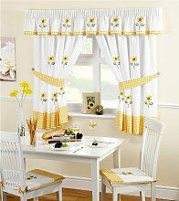 Elizabeth Arden Sunflower Küchengardine mit
