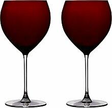 Ella Sabatini Rosso Rot Copa Gin & Tonic Glas