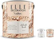 ELLE DECORATION by Crown Premium-Wandfarbe im Set
