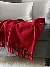 ElleSilk Seide Decke, Seide Überwurf für Sofa
