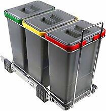 Elletipi Ecofil Mülleimer für Mülltrennung,