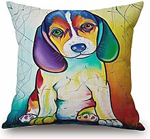 Elliot _ Eibe Colorful Cute Pug Dog Pet