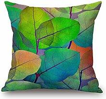 Elliot _ Eibe gefärbte Blätter Kissen Sham für