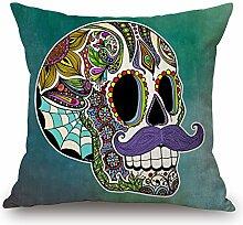 Elliot _ Eibe Kissen Fall dekorative Totenkopf Art