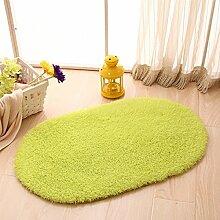 Ellipse Watergate Badematte/Lobby Fußmatten/Schlafzimmer Türmatte/ Bad Küchentür-Matten-A 50x120cm(20x47inch)